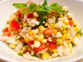 Grilled Corn Pico de Gallo