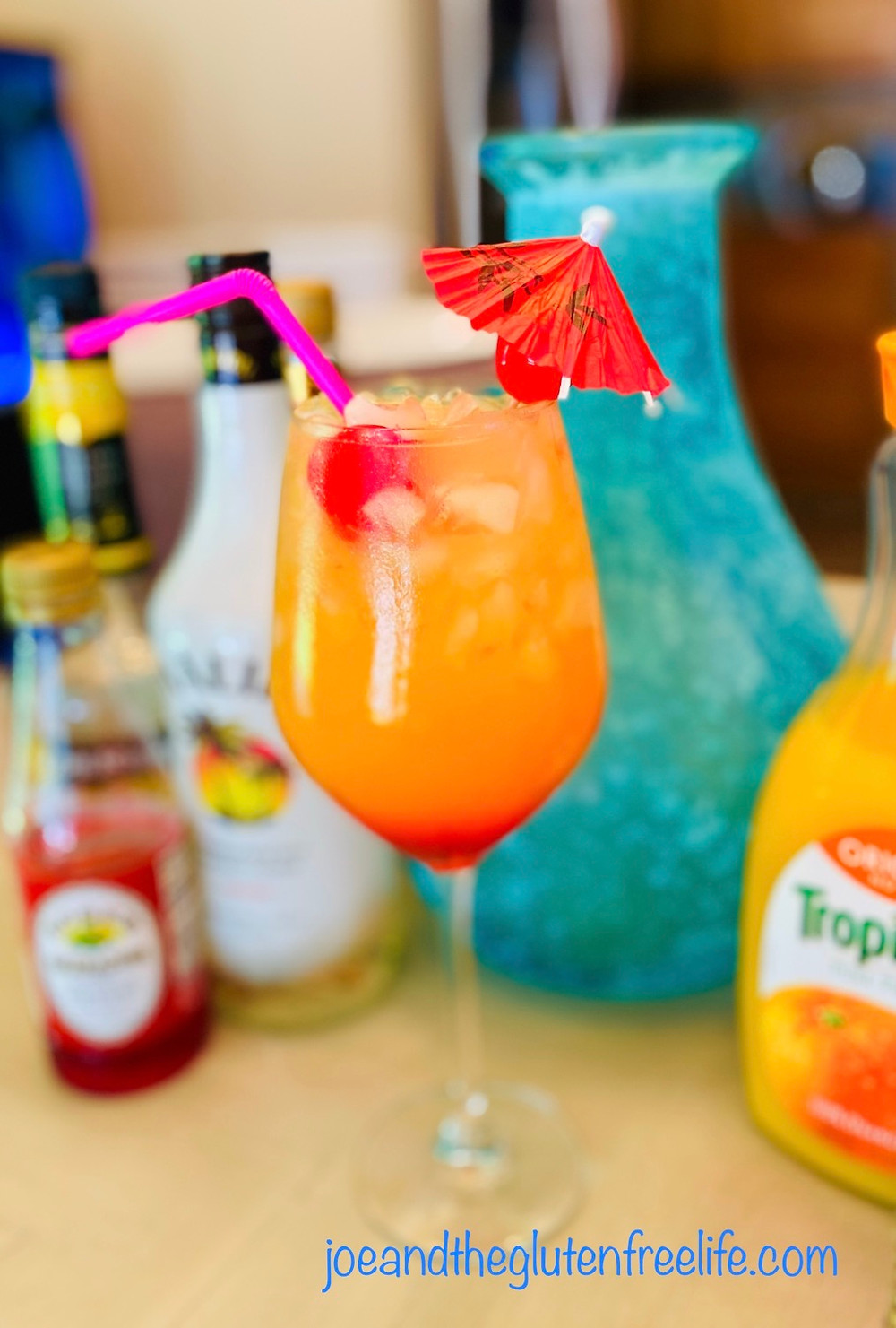 A wonderful, refreshing, and easy to make cocktail full of Caribbean flavors!