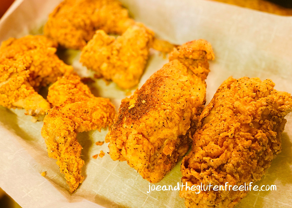 Easy recipe for a delicious crispy, golden, and juicy traditional fried chicken!