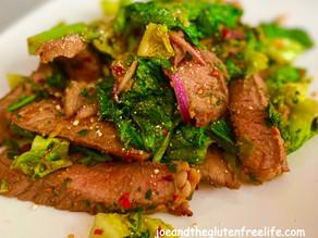 Nam Tok (Waterfall Steak Salad)