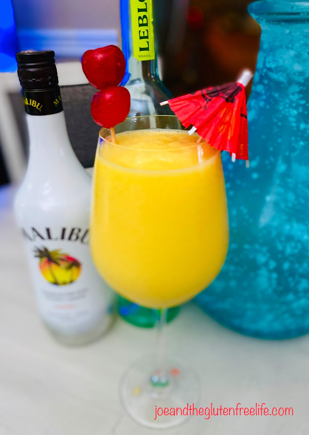 A new twist on the traditional Piña Colada cocktail!