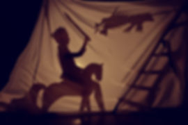 Fabulous the shadow of the little Prince on horse with sword and dragon.jpg Theatre.jpg Childhood.jp