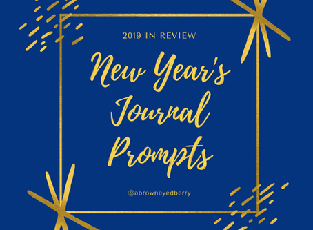 2019 in review: New Year's reflection journal prompts