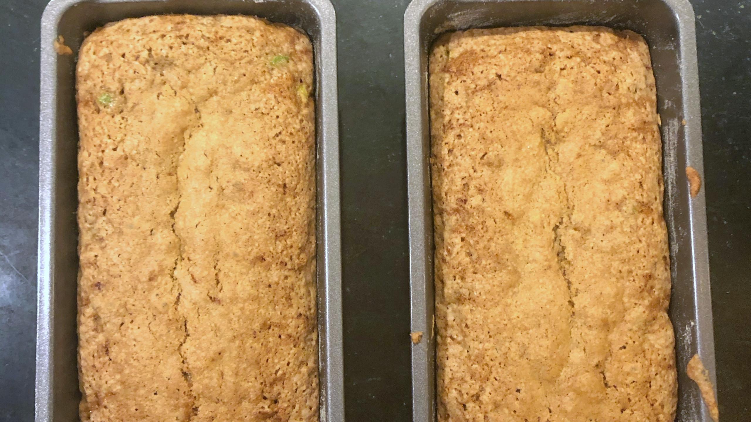 Zucchini bread from V Monte of AllRecipes