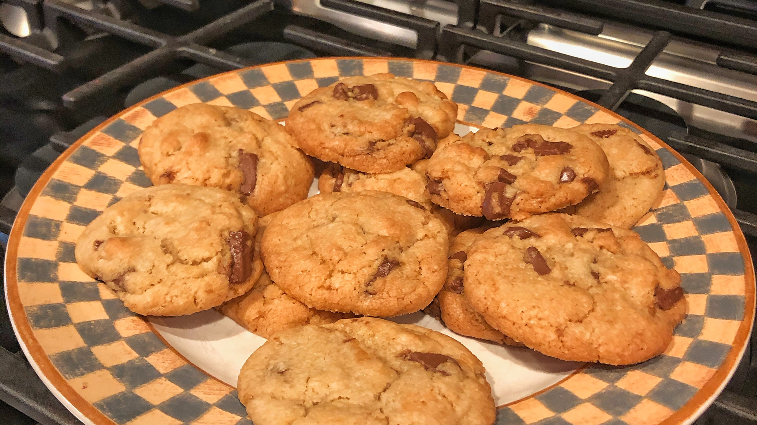 Chocolate chip cookies from Tasty