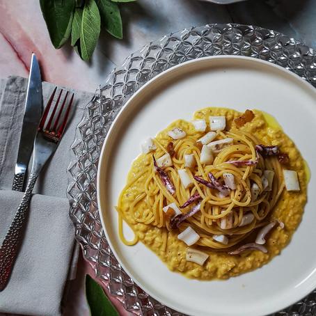 Spaghetto Calamari, Ceci e Lime