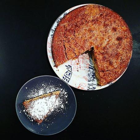 Torta Integrale Pere, cioccolato Fondente&Amaretti