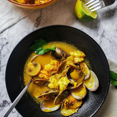 Tom Yam: Zuppa Thai di pesce