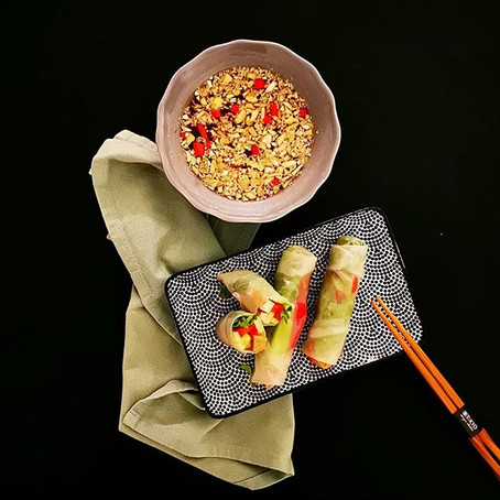 Spring Rolls al Tofu