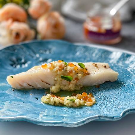 San Pietro, Sudashi e uova di salmone