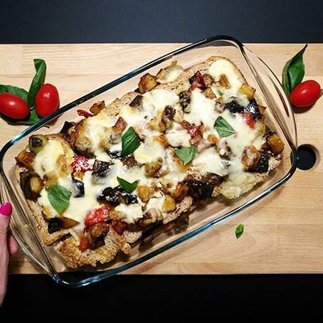 Lasagna Estiva (Mozzarella di Bufala, Zucchine, Melanzane, Peperoni e Patate grigliate)