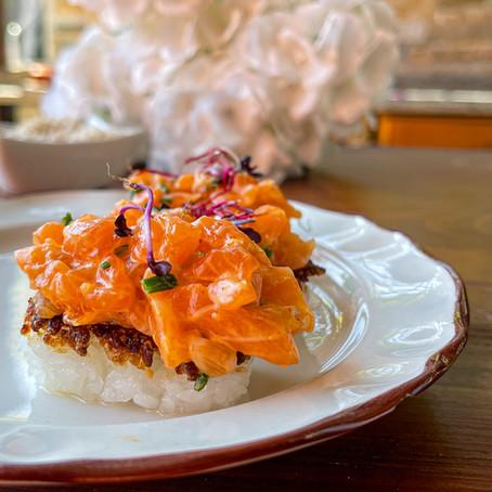Rice Spicy Salmon