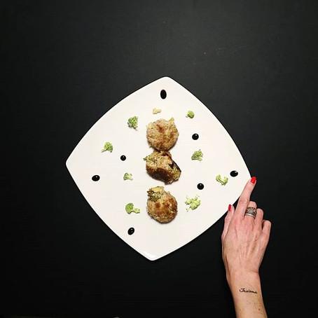 Polpette Broccoli, Tacchino, Pecorino romano al vino bianco