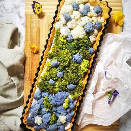 Crostata Salata di Broccoli e Cavolfiore