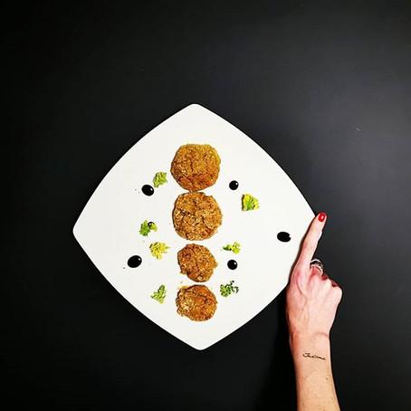 Polpette al forno Ceci&Kale in panure di farina d'Avena