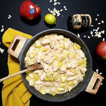 Bocconcini di Pollo & Mele in crema alla Senape