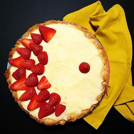 Crostata alla Frutta: Frolla alla vaniglia, Crema pasticcera al limone e Fragole