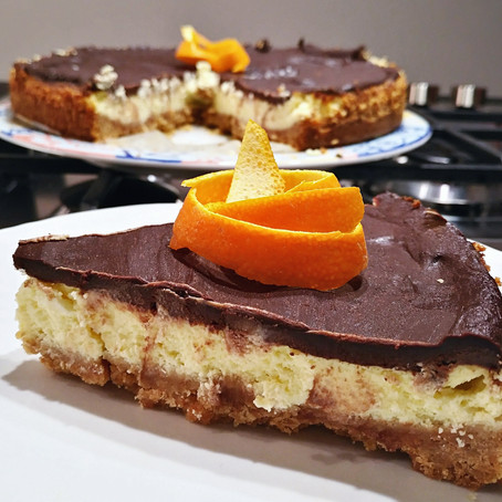New York Cheesecake con Top al cioccolato