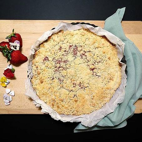 Sbriciolata Fragole & Yogurt Greco