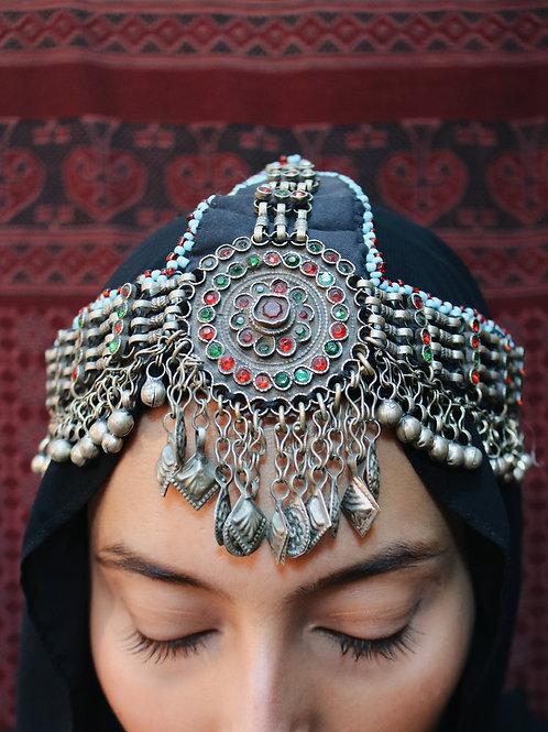 Antique Kuchi Headpiece / Mathapati