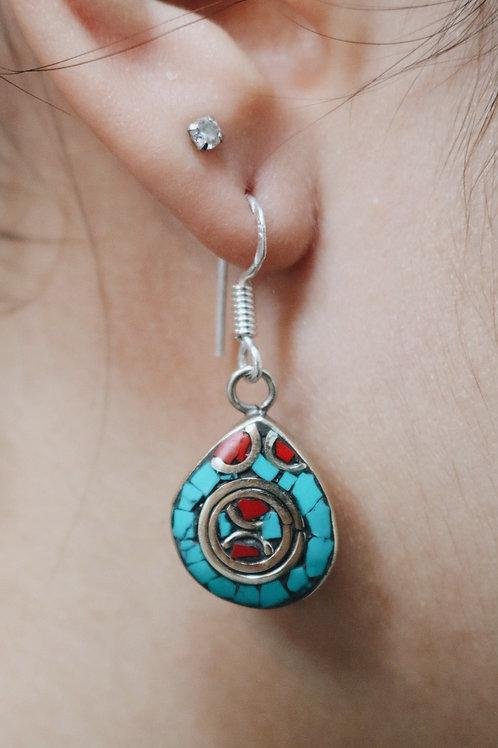 Nepali Mini Drop Earrings