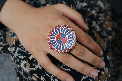 Nepali Large Flower Rings