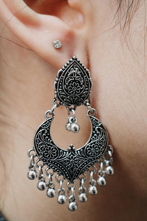 Crescent Drop Earrings