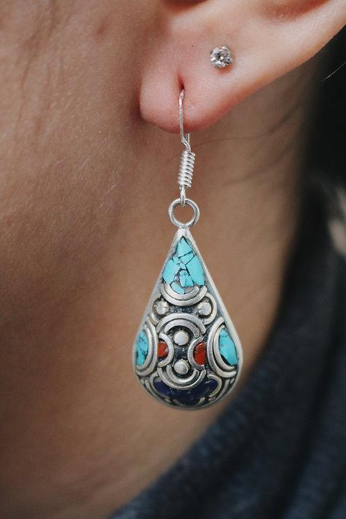 Nepali Drop Earrings