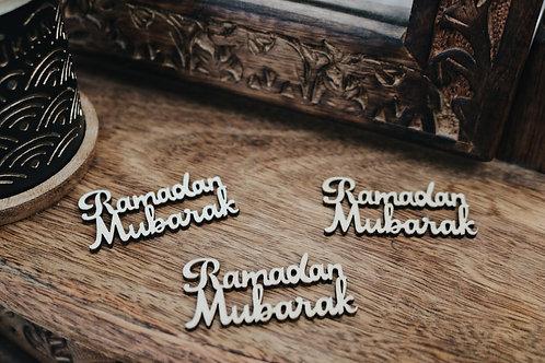 Ramadan Mubarak Rustic Decor