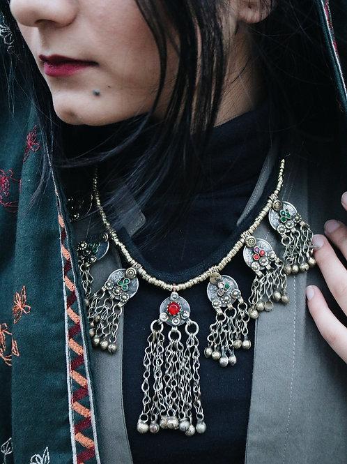Antique Kuchi Coin Necklace