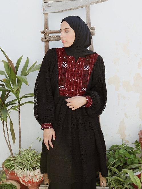 Kuchi Crochet Batwing Dress