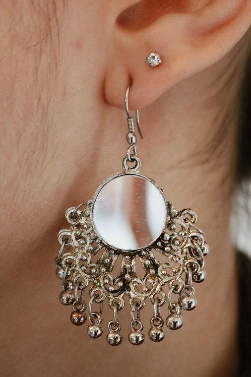 Mirror & Bell Earrings