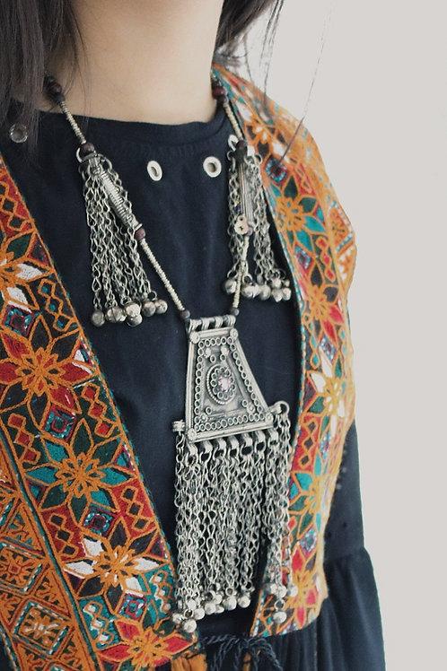 Antique Kuchi Amulet Necklace