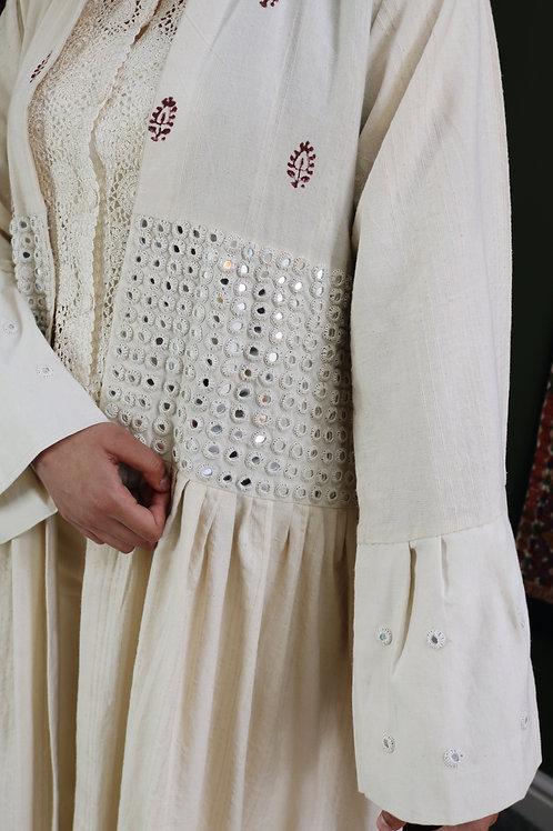 Heavy Mirrored Paisley Kimono