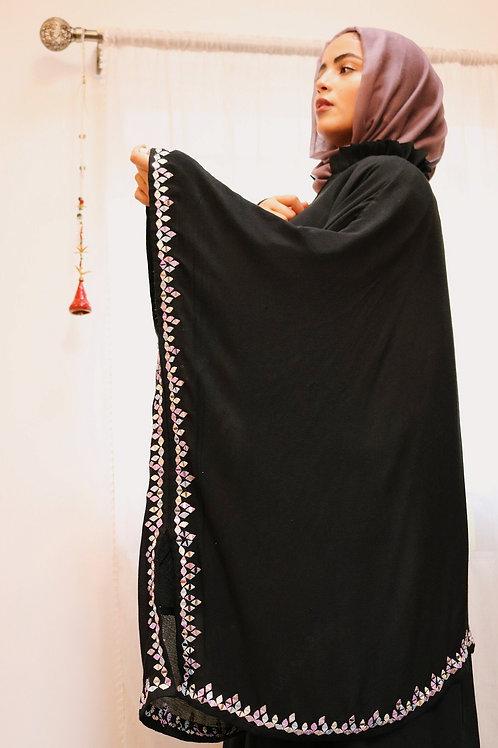 Black Skirt and Kaftan Co-ord
