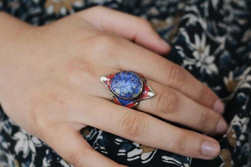 Nepali Large Stone Rings
