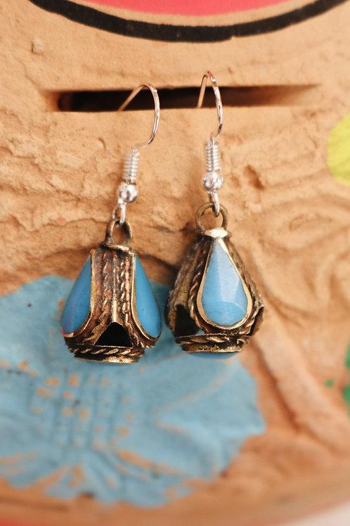 Small Kuchi Drop Earrings