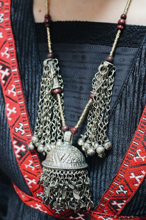 Antique Kuchi Tribal Necklace