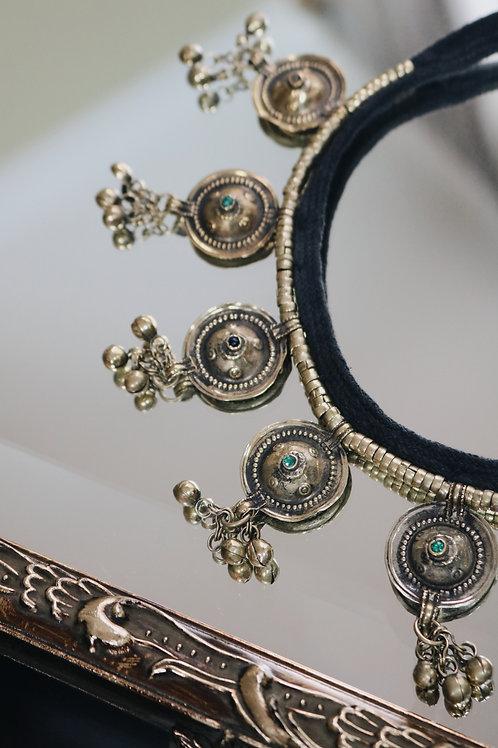 Antique Kuchi Disc Necklaces