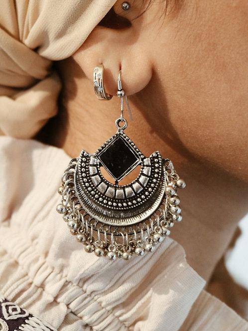 Crescent Mirror Earrings