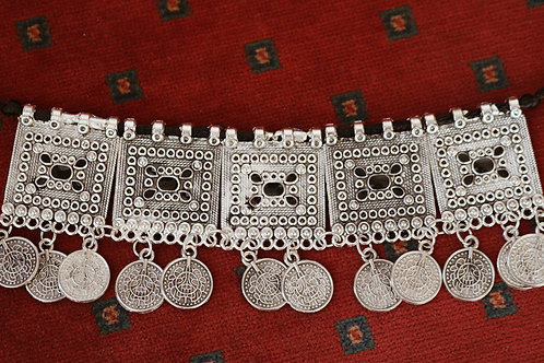 Balochi Silver Coin / Bells Chokers