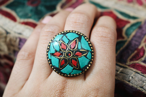 Assorted Round Flower Rings