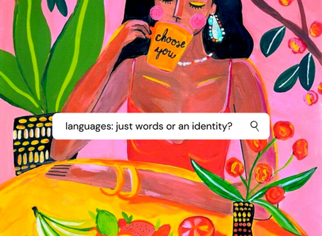 Languages: A composition of words or identity?