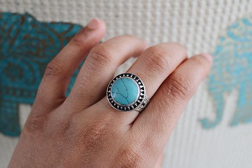 Round Stone Rings