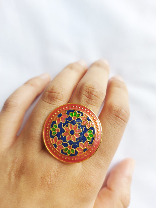 Meenakari Assorted Rings