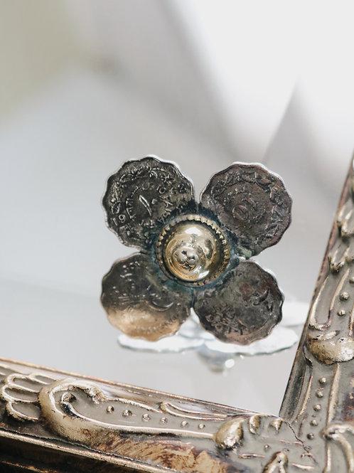 Antique Kuchi Coins Ring