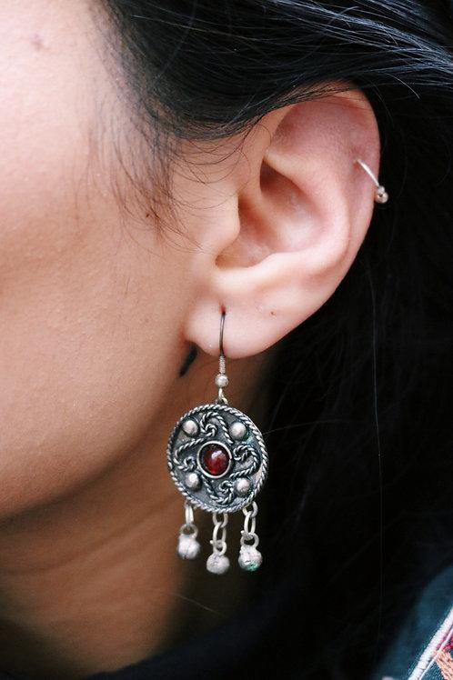 Antique Disc Earrings