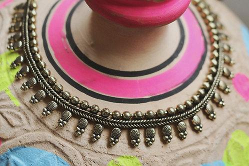 Simple Bronze Necklaces