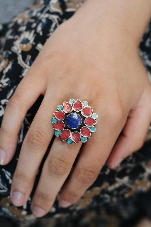 Nepali Flower Ring
