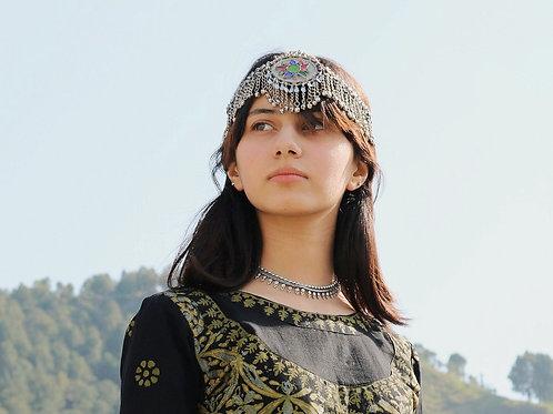 Antique Style Kuchi Headpiece / Mathapati